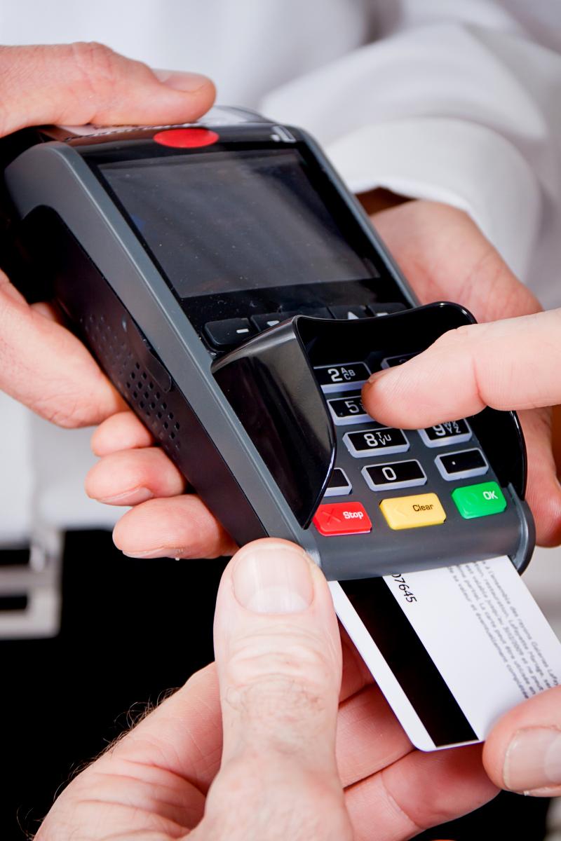 Bezahlen mit einem QR-Code