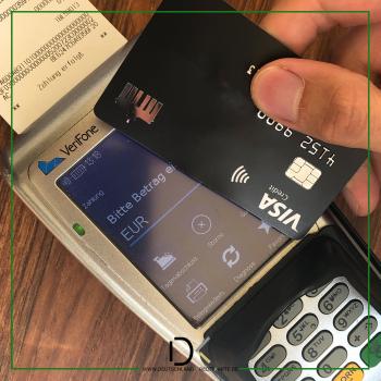 50 Euro für Zahlungen mit der Deutschland-Kreditkarte