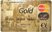 Ab sofort ist Geld abheben mit der Gebührenfrei MasterCard GOLD günstiger