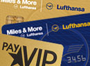 payVIP MasterCard GOLD und Miles and More Kreditkarten