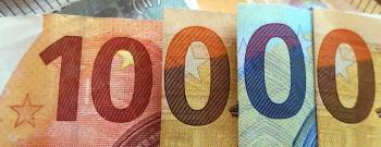 Bargeldzahlungen nur noch bis 10.000 Euro anonym möglich