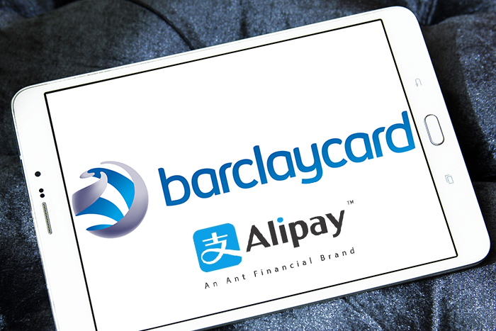 Dank Barclaycard: Alipay goes UK
