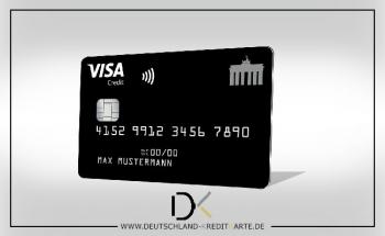 Deutschland-Kreditkarte Classic unter den Top3 im Test kostenloser Kreditkarten