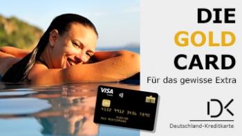 Deutschland-Kreditkarte GOLD gehört zu den besten Kreditkarten für Urlauber