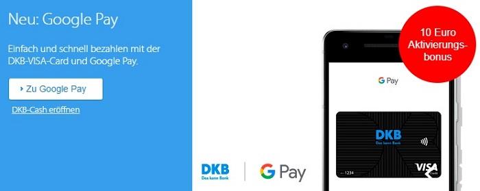 DKB unterstützt ab sofort Google Pay