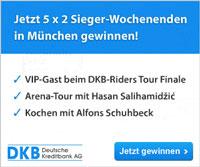 DKB VISA Kreditkarte kostenlos beantragen und mit etwas Glück wahre Sieger treffen