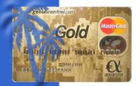 Gebührenfrei MasterCard GOLD: Kostenlose Kreditkarte beantragen und Reisegutschein gewinnen