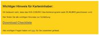 HUK-COBURG trennt sich von VISA Kreditkarte der Bayern LB