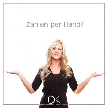 Zahlen per Hand?