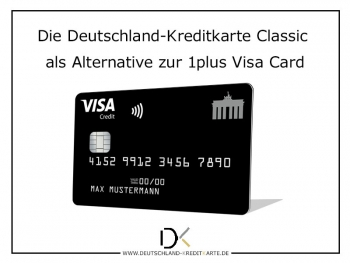 Alternative zur 1plus Visa Card