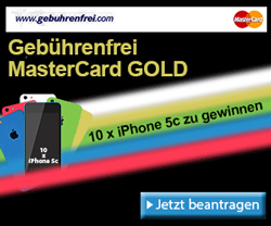 Advanzia Bank verlost 10 x iPhone 5c
