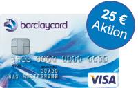 Letzte Chance: Barclaycard New Visa mit 25 Euro Startguthaben