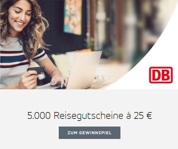 Mastercard verlost 5.000 Reisegutscheine