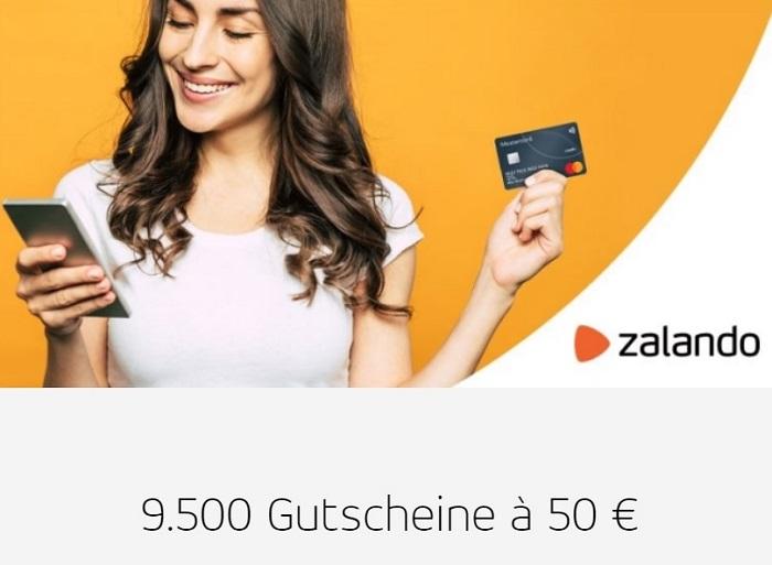Mastercard verlost Zalando-Gutscheine