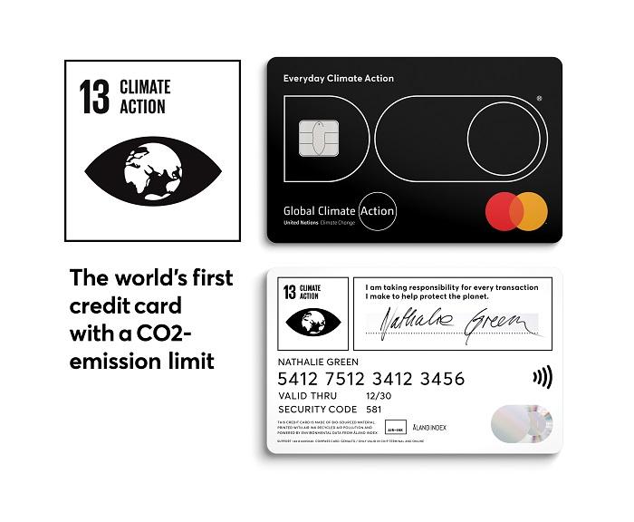 Nachhaltiger Konsum per Kreditkarte
