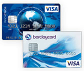 Barclaycard New Visa und ICS Visa World