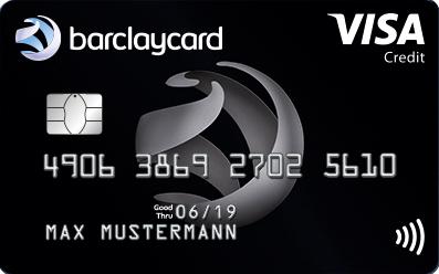 Neue Reise-Kreditkarte: Barclaycard Visa