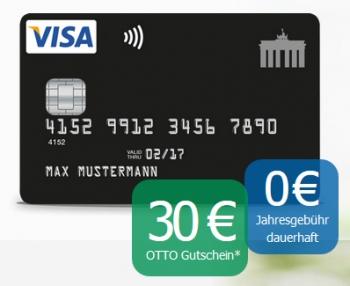 Gutschein-Aktion bei der Deutschland-Kreditkarte