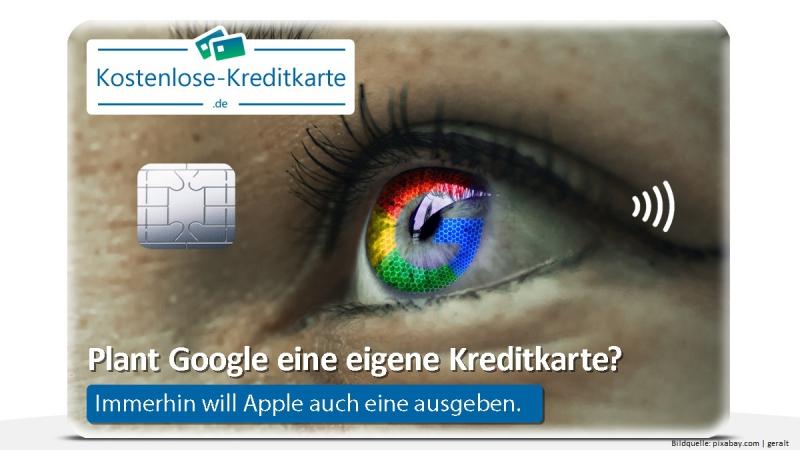 Plant Google eine eigene Kreditkarte?