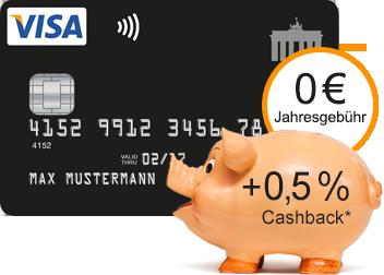 Powershopper aufgepasst! - Clever einkaufen mit der Deutschland-Kreditkarte und Cashback absahnen.