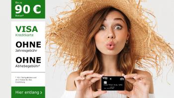 Sommeraktion: bis zu 90 € Bonus | Deutschland-Kreditkarte Classic
