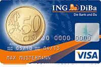 Sparen Sie mit der ING-DiBa Kreditkarte jeden Tag beim Einkauf im Drogeriemarkt