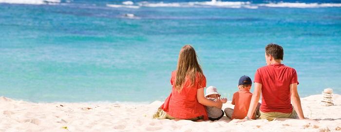 Sparpotenzial für Familien auf Reisen