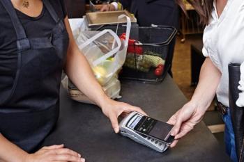 kontaklos bezahlen mit VISA Kreditkarte