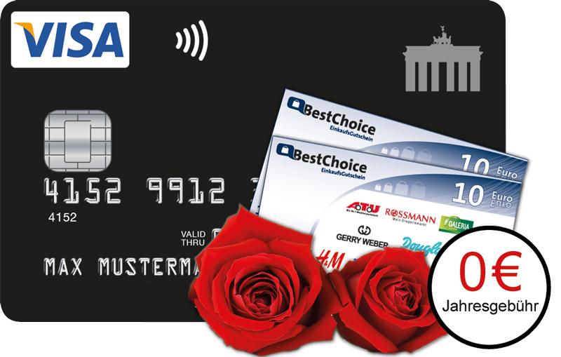 Valentinstag-Aktion   Deutschland-Kreditkarte