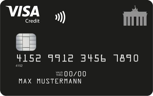 Visa Deutschland-Kreditkarte: VideoIdent & im EWR kostenfrei bezahlen