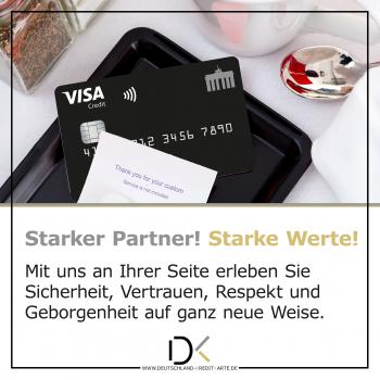 Deutschland-Kreditkarte Visa Card
