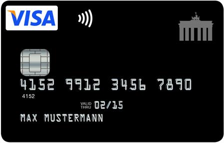 Visa Kreditkarte - Über eine Milliarde kontaktlose Zahlungsvorgänge im Jahr 2014