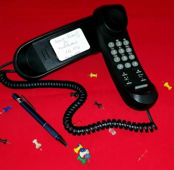 Vorsicht vor unbekannten Anrufern!