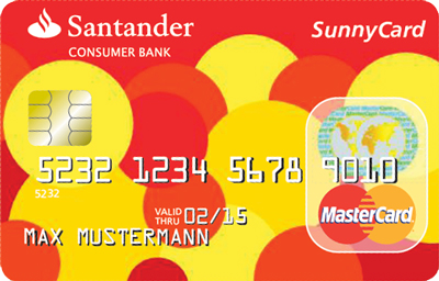 Welcome to the bright side of life - die Sunnycard der Santander Consumer Bank