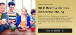 Werbe-Prämie für Kreditkarten-Neukunden